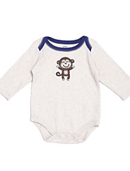 Girl's White Clothing Set , Cartoon Cotton Spring / Fall