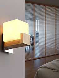 Wall Sconces LED / Mini Style Modern/Contemporary Wood/Bamboo