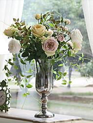 8 Bouquet European Style Tie-In Flower Combination Artificial Flower