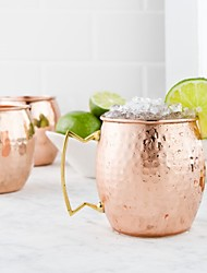 Moscow Mule Mugs with hammer finish