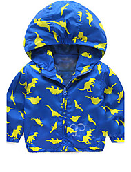 Boy's Polyester Jacket & Coat,Spring Print