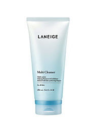 1 Limpeza Facial Molhado Creme Limpeza Rosto Transparente Korea LANEIGE