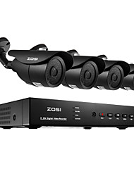 ZOSI® 8CH H.264 HDMI 960H DVR 4pcs 1000TVL Outdoor Night Vision 120ft CCTV Camera Security System