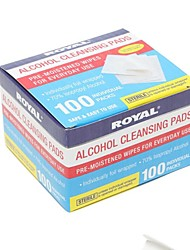 200Pcs Pre-moistened Wipes for Everyday Use/ Pre-moistened Alcohol Cleansing Pads 70% Isopropyl Alcohol Alcohol Prep Pad