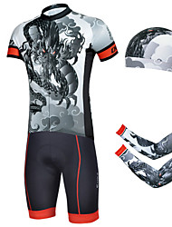 CHEJI Bike/Cycling Shorts / Arm Warmers / Bandana / Jersey / Jersey + Pants/Jersey+Tights / Clothing Sets/Suits Men's Short Sleeve