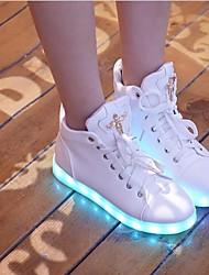 Calçados Femininos - Tênis Social - Conforto - Rasteiro - 1 # / 2 # - Sintético -Ar-Livre / Casual / Para Esporte / Festas & Noite /