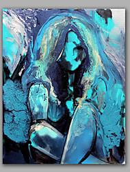 яркий цвет обнаженной девушки хорошая картина маслом искусства стены растянуты