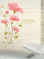 Third Generations Of Decoration Waterproof And Easily Removable Wall Stickers Of Lotus For Romantic Wedding Room