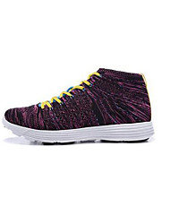 Running Sneakers / Running Shoes Unisex Damping High-Top / Braided Green / Red / Black / Purple Running/Jogging
