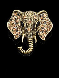 Fashion Vintage Elephant Brooch