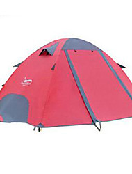 DesertFox Quick Dry / Rain-Proof Oxford / Polyester One Room Tent Pink / Blue / Dark Green / Light Green