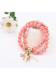Cute / Casual Alloy / Imitation Pearl Stretch / Pearl Bracelet
