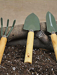 Home Gardening Tools Shovels Rake Flowers  Green