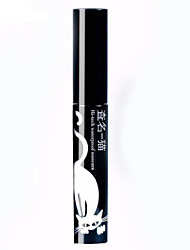 Long Thick Waterproof Not Dizzy Lifted lashes Volumized Lash Curling Mascara Jet Black