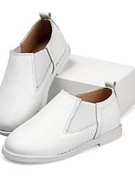 Zapatos de bebé - Mocasines - Exterior / Casual - Cuero - Negro / Amarillo / Blanco