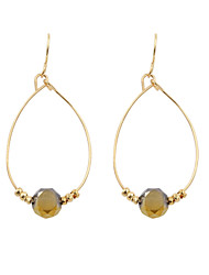 Earring Drop Earrings Jewelry Women Wedding / Party / Daily / Casual / Sports Alloy / Glass 1 pair Gold