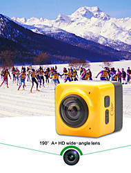 Waterproof 220° Fisheye Cube 360 Action Video Camera WiFi H.264 360 Degrees Panorama Camera(Assorted Colors)