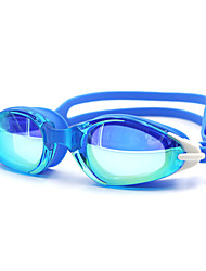 Swimming Goggles Unisex Anti-Fog Silica Gel PC White / Black / Blue / Dark Blue White / Red / Black / Blue / Dark Blue / Purple