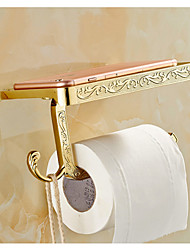 Toilet roll holder  gold colour