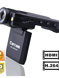 Car DVR 1080P HDMI Output K2000 140 degrees lens and 270 Degrees Rotating Screen