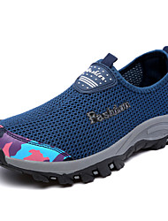 Men's Shoes Outdoor Fashion Sports Shoes Leisure Microfiber Fabric Shoes Blue /Black