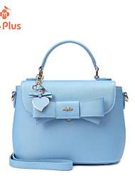 Bolsa de Ombro / Tote-Feminino-Baguete-Azul-PU