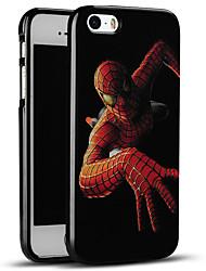 spider-man caso del iphone suave cubierta trasera protectora para el iPhone se / iPhone 5s / 5