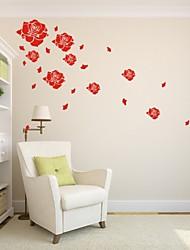 Romance / De moda / Florales Pegatinas de pared Calcomanías de Aviones para Pared,PVC S:74*135cm M:110*200cm/ L:144*260cm