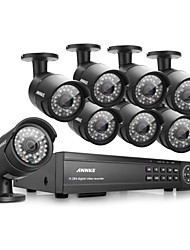 Annke® 16CH 1080P HD DVR HDMI CCTV Outdoor IR Home Video Security Camera System
