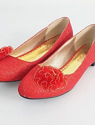 Women's Wedding Shoes Comfort Flats Wedding / Party & Evening / Dress Red