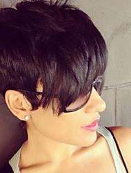 ethelhair новый дизайн по доступным ценам человека парики волос монолитным для чернокожих женщин
