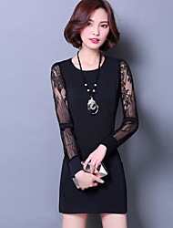 New Women Slim Long-Sleeved Dress