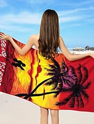 """100% полиэстер-70*150cm(27.5""""*59"""")-Реактивнаяпечать-Пляжное полотенце"""