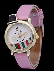 Mulheres Relógio de Moda Digital Borracha Banda Branco / Vermelho / Verde marca-