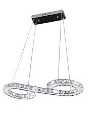 S Model LED Pendant Lights Modern Crystal Lamps Lighting Luxurious Ceiling Light Fixtures