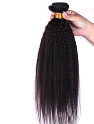 1pcs 10-26inch péruvien vierge yaki cheveux raides catégorie supérieure des faisceaux d'ondes non transformés extensions de cheveux