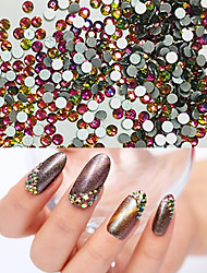 50PCS 3MM Color Intrigue Jewel Nail Art Decoration