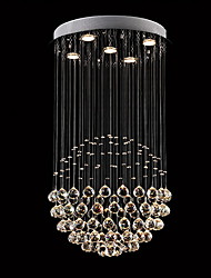 Chandelier ,  Modern/Contemporary Traditional/Classic Rustic/Lodge Tiffany Vintage Country Island Electroplated Feature for Crystal LED