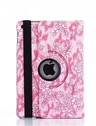 360 Degree Grape Grain PU Leather Flip Cover Case for iPad Air 2 (Assorted Colors)
