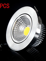 5PCS MORSEN®High quality 3W Dimmable led Cell Downlight, led celling lights ceiling downlight include the drive