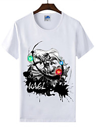 Cotton Lycra Men's T-shirt/World of Warcraft Wow Ink Series 1Pc Carle Summon