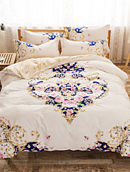 Queen Duvet Cover Set 100% Twill Cotton Bedding Sets