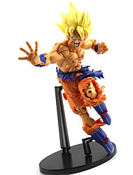 22CM Dragon Ball Z Cultures BIG Resurrection Of F Styling God Super Saiyan Son Goku Bardock