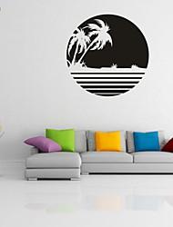 Romantik / Mode / Landschaft / Abstrakt Wand-Sticker Flugzeug-Wand Sticker,PVC M:42*42cm L:55*55cm