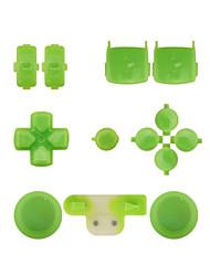 Контроллер замена комплект кейс сборка Комплект для PS3 желтый / синий / зеленый