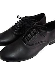 Мужская обувь - Кожа Черный) - Латино/Современный танец/Сальса/Обувь для стандартной программы