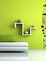 Like Shiny Aeolian Bells Wall Sticker Sitting Room & Bedroom Decor Fashion Stereoscopic Aeolian Bells Wall Stickers