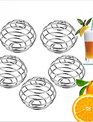 10pcs Stainless Steel  Milkshake Protein Blender Wire Mixer Mixing Ball For Shaker Drink Bottle Cup