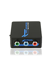 geluidskwaliteit rgb + r / l naar HDMI mini converter 1080p met CE FCC Rosh certificaten