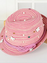 2016 Newest Pearl Flowers Small Jazz Hat